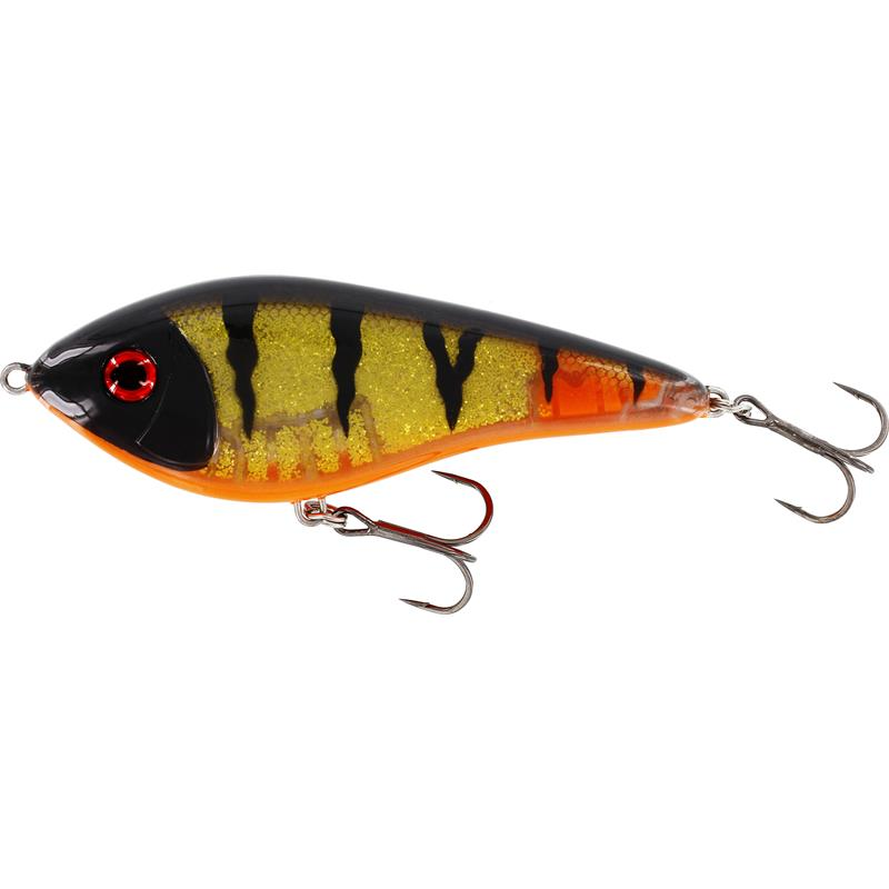 Westin Swim Glidebait 12cm 53g 3D Golden Perch, Suspending