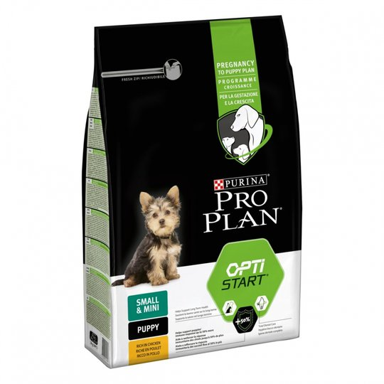 Purina Pro Plan® Dog OptiStart® Puppy Small & Mini Chicken (3 kg)