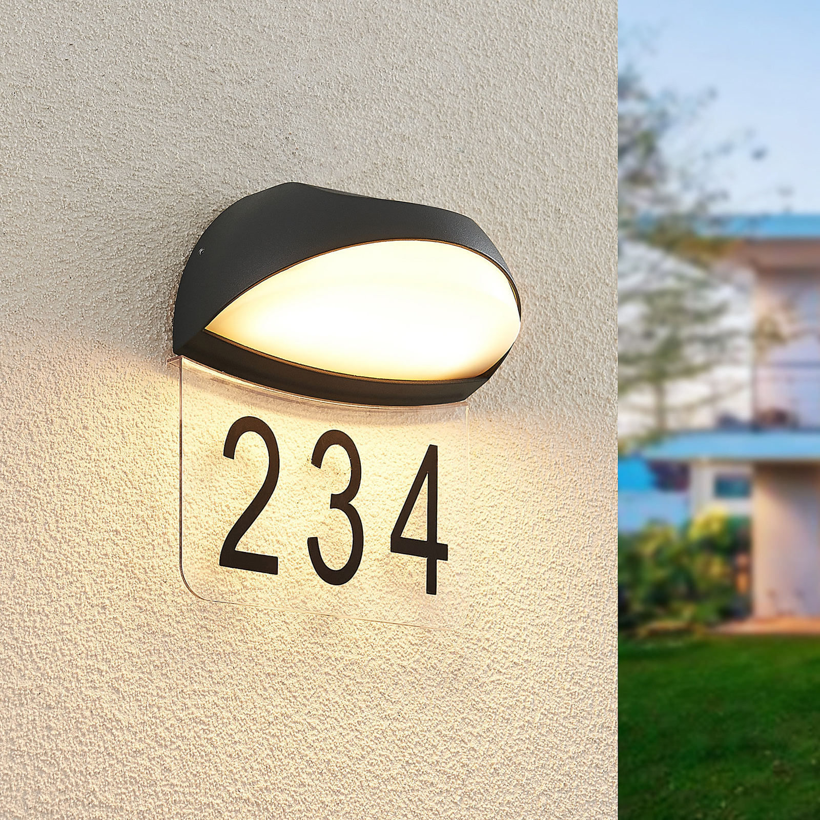 Lucande Loena -LED-talonnumerovalaisin