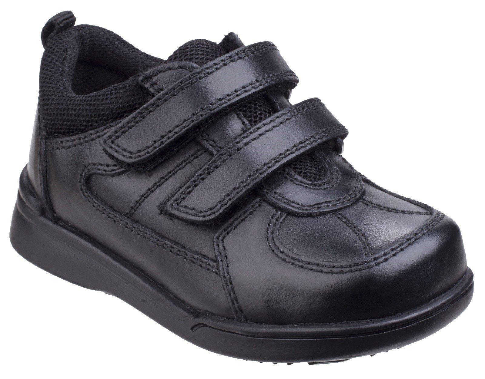 Hush Puppies Men's Liam School Shoe Black 25672 - Black 9