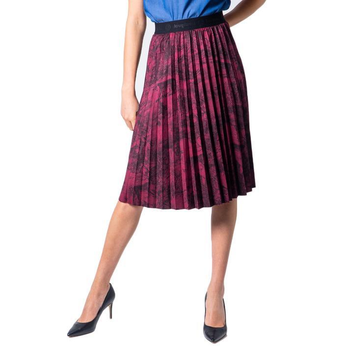 Desigual Women's Skirt Bordeaux 175916 - bordeaux 38