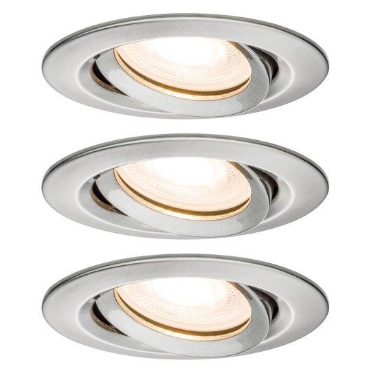 Paulmann Nova LED-kohdevalaisin, IP65, rauta