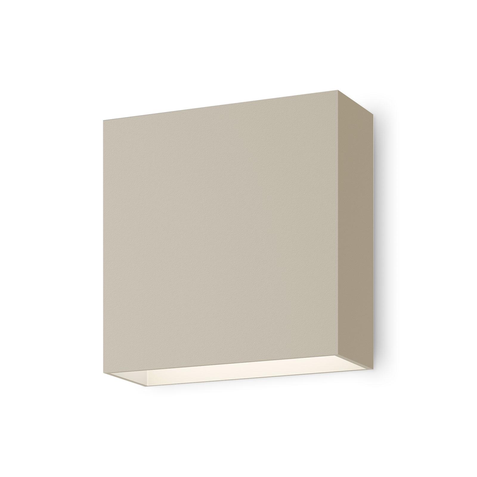 Vibia Structural 2600 LED-seinävalo vaaleanharmaa