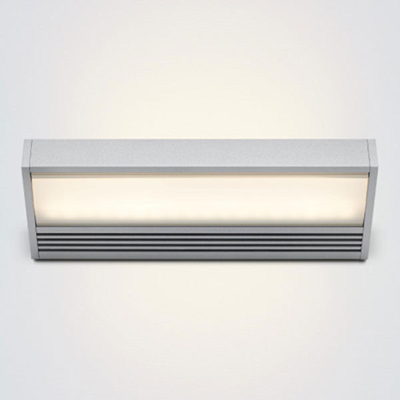 serien.lighting SML – LED-seinävalaisin hopea