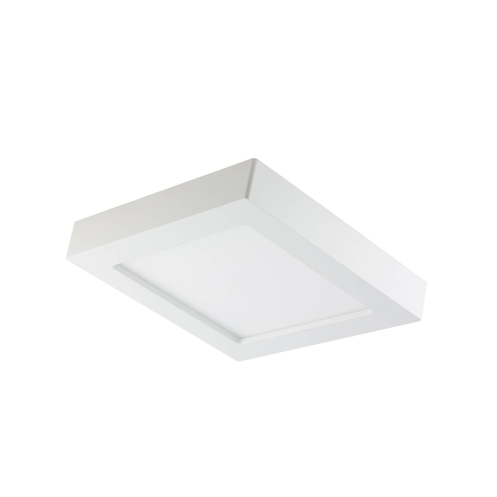 Prios Alette -LED-kattovalo valkoinen 22,7 cm 18W