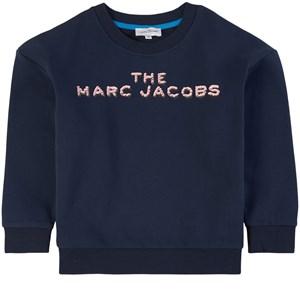 The Marc Jacobs Logo Sweatshirt Marinblå 4 år