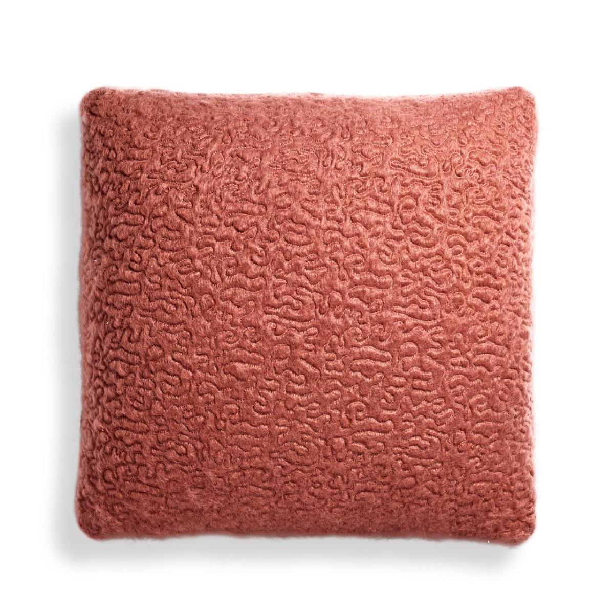 L'Objet I Haas Vermiculation Pillow I Brick