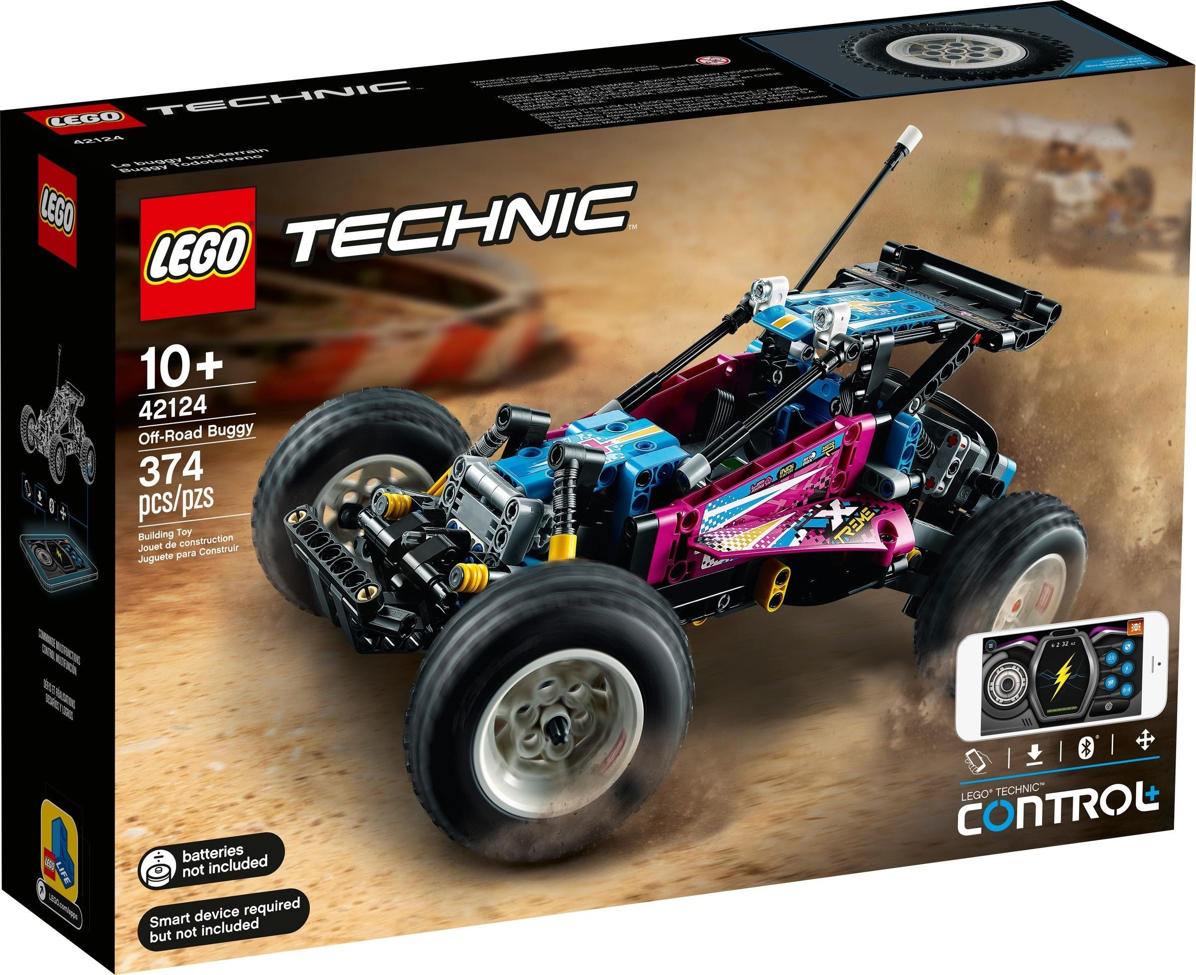 LEGO Technic - Off-Road Buggy(42124)