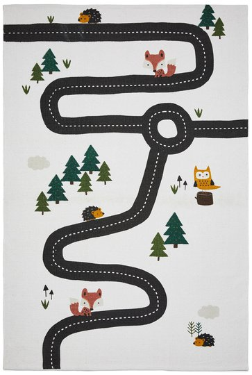 Alice & Fox Bilbane Matte Forest Hvit Bunn