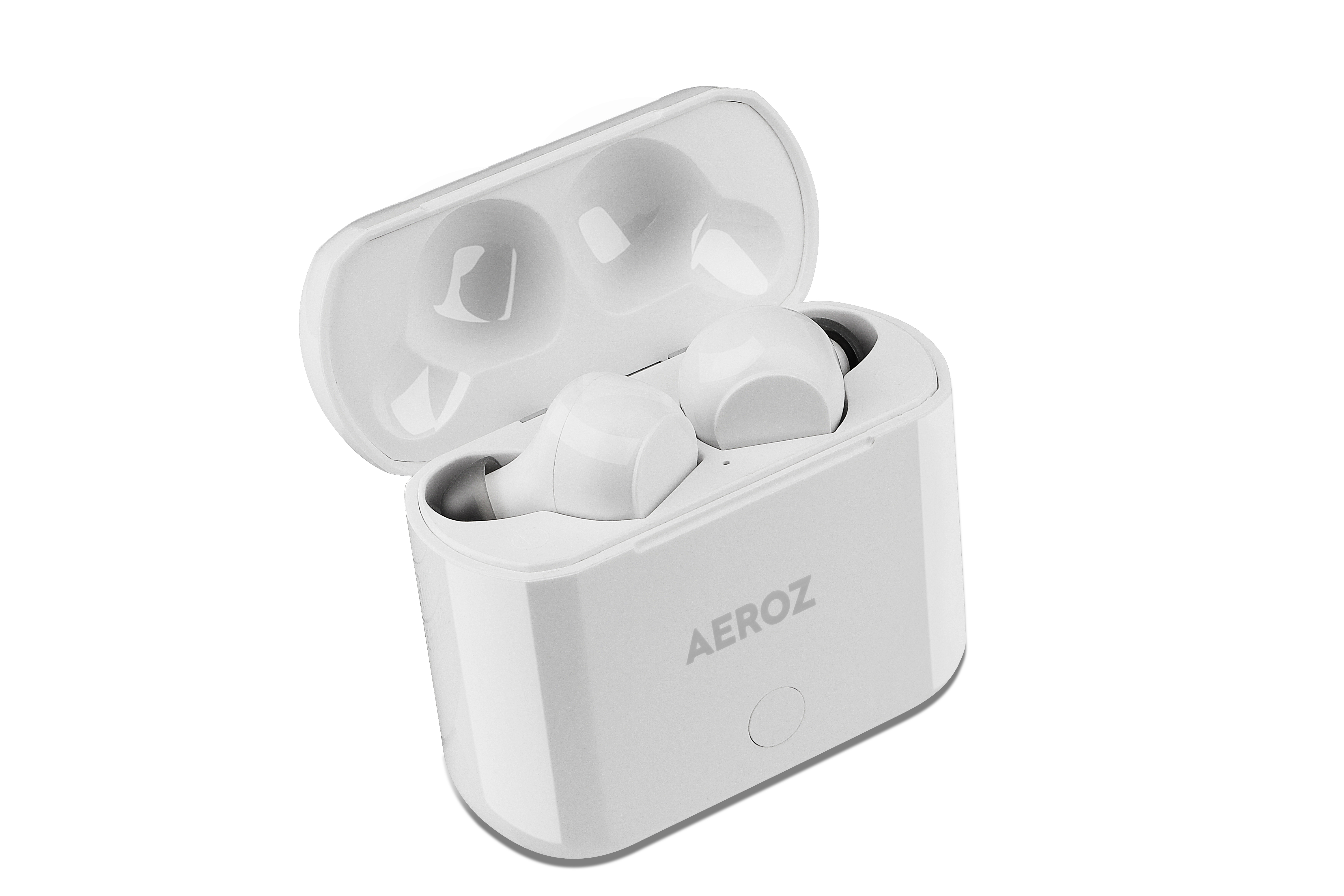 AEROZ - TWS-122 WHITE - True Wireless Stereo earbuds with charging case