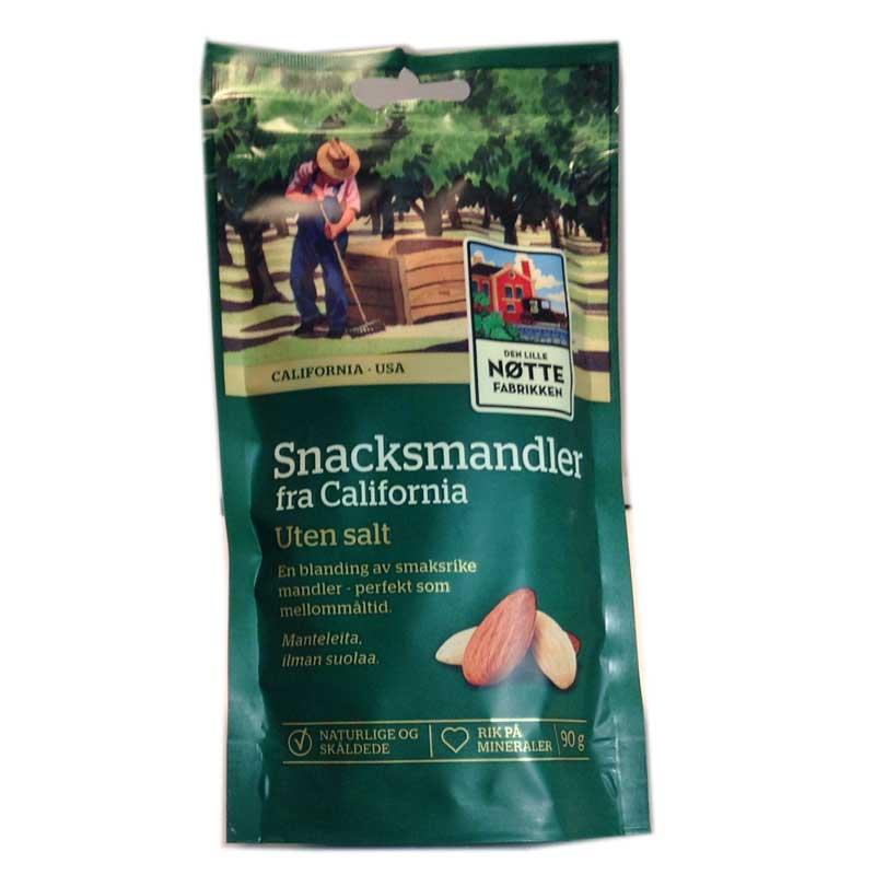 Snacksmandel - 80% rabatt