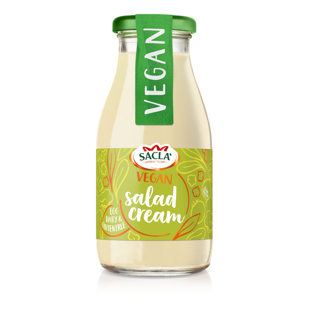 Sacla' Vegan Salad Cream 230ml