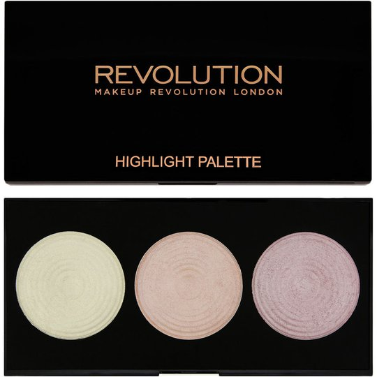 Highlighter Palette, Makeup Revolution Highlighter