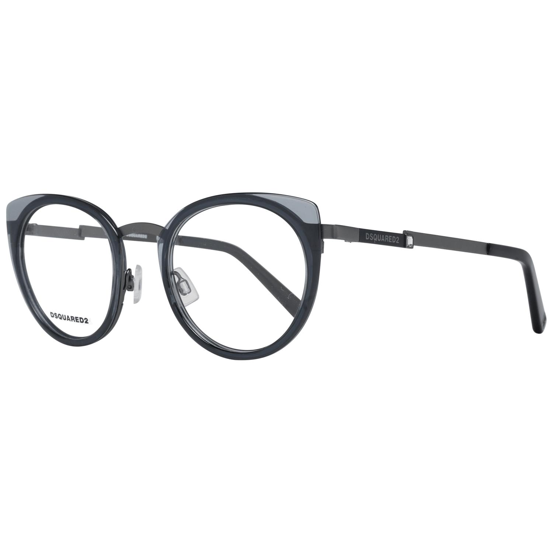 Dsquared² Women's Optical Frames Eyewear Gunmetal DQ5302 49009