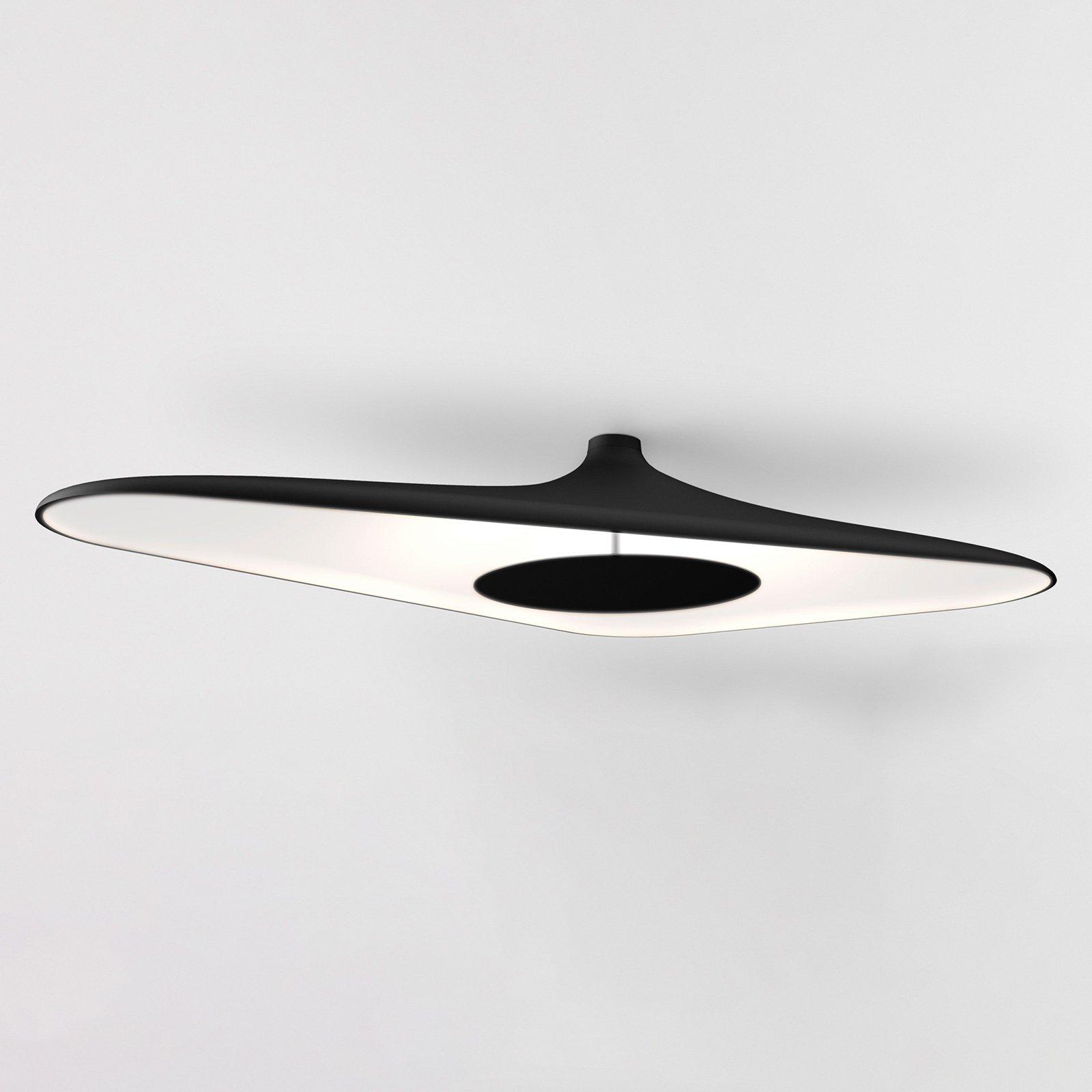 Luceplan Soleil Noir LED-taklampe, svart