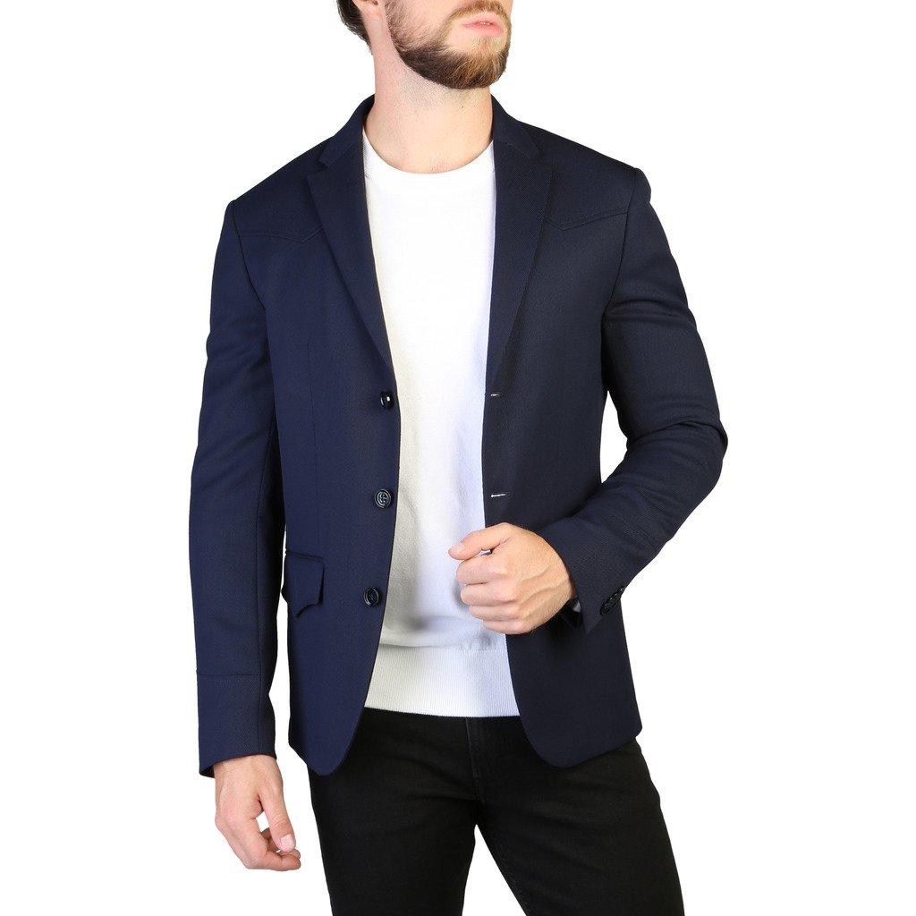 Calvin Klein Men's Formal Jacket Blue 349289 - blue 48