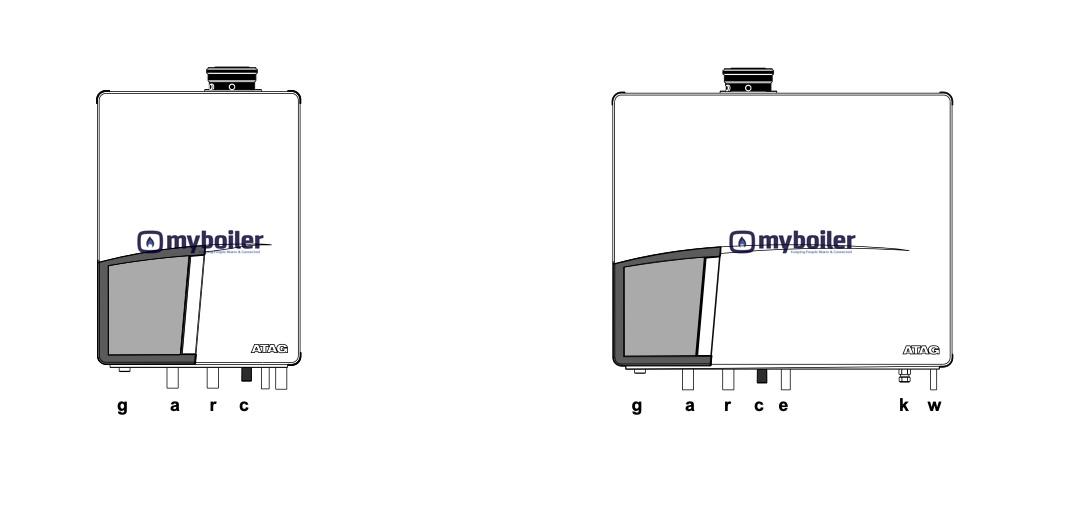 Atag Q-Series Q25S Q38S Q51S Q60S Q25C Q38C Q51C Installation Servicing Instructions Manual