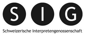 Logo Schweizerische Interpretengenossenschaft SIG - Collecting society for interpreters' rights