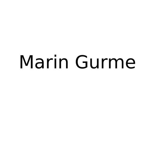 Marin Gurme