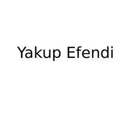 Yakup Efendi