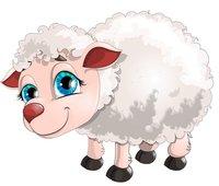 Раскраски Козы и овечки