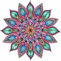 Раскраски Мандалы
