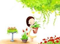 Раскраски Весна