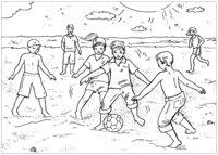 Раскраска Футбол