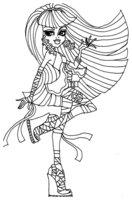 Раскраска Клео де Нил — дочь мумии Имхотепа