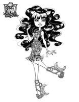 Раскраска Клодин Вульф «ШМ: призрачно»