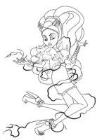 Раскраска Кловенера (Clawvenus)