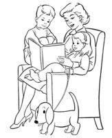Раскраска Любимая мама 8 марта