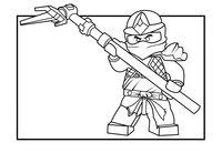 Раскраска Ninjago Cole ZX