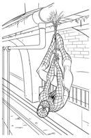 Раскраска Новый Человек паук
