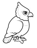 Раскраска Орел