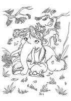 Раскраска Персик из ледникового периода