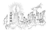 Раскраска Подводное царство