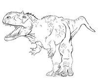 Раскраска Раджазавр