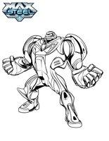 Раскраска Сила супергероя
