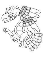 Раскраска Сказочный орел