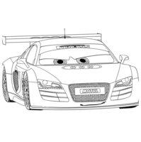 Раскраска Тачка Audi