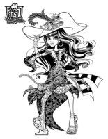 Раскраска Вандала Даблунс «ШМ: призрачно»