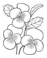 Раскраска Весенние цветы маме на 8 марта