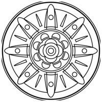 Раскраска Зендала Ракеты