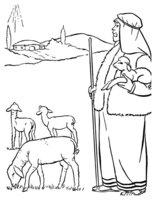Раскраска Звезда оповещает о рождении Христа