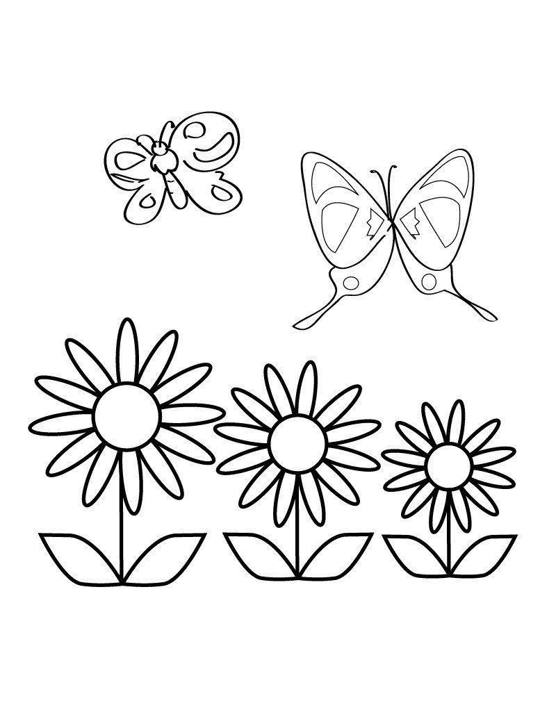 раскраски весна распечатать бесплатно в формате а4