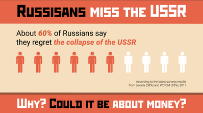 Why Russians miss the USSR
