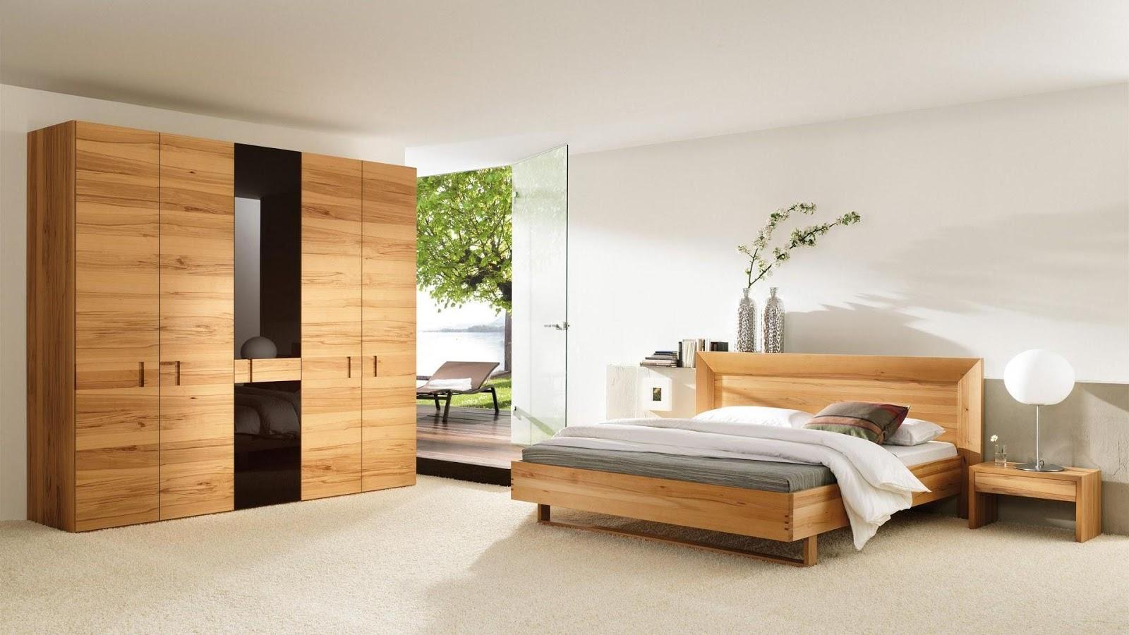 Yatak Odası Takımlarında Ahşap Kullanımı