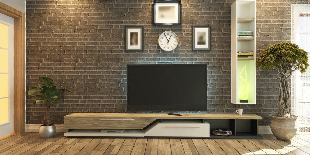 TV Ünitesi Dekorasyonu