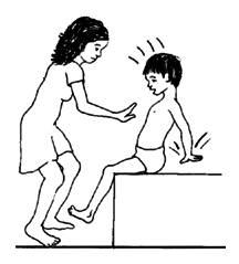 Vücut kontrolü, vücut dengesi ve oturma dengesi için aktiviteler